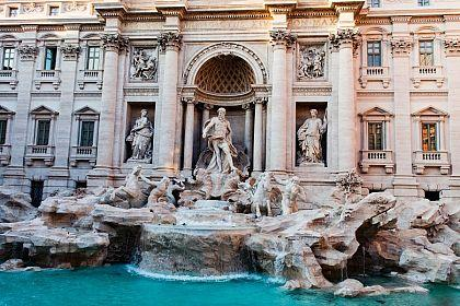 Squares and Fountains of Rome